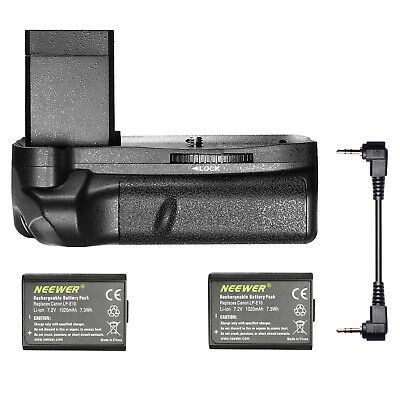 Neewer Vertical Battery Grip +2x Battery f Canon Rebel T3 T5 T6 EOS 1100D 1200D