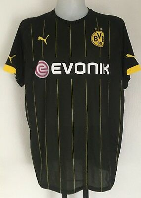 Borussia Dortmund 2015/16 S/s Away Shirt By Puma Size Adults Xxl Brand New