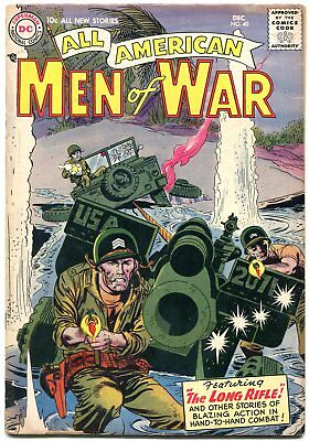 All American Men Of War #40 United Nations Feature Dc-- Vg