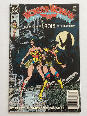 Wonder Woman 47 by George Perez and Jill Thompson from DC Comics Titans