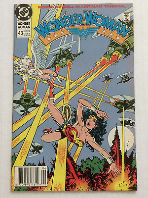 Wonder Woman 43 by George Perez & Chris Marrinan from DC Comics