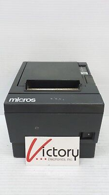 Used EPSON TM-T88III M129C THERMAL PRINTER POS Unit w/ Power Supply and Cord