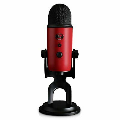 Blue Yeti USB Microphone (Satin Red)