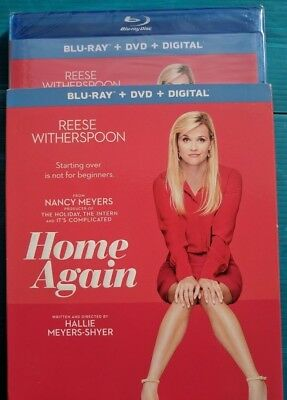 Home Again reece witherspoon 2017 Blu-ray/DVD NO DIGITAL BLUERAY bluray/slip new