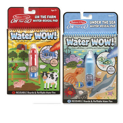 MELISSA & DOUG Water Wow Coloring Book (Under the Sea ...