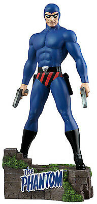 "THE PHANTOM: The Ghost Who Walks - 12"" Blue Suit Variant Statue (Ikon) #NEW"