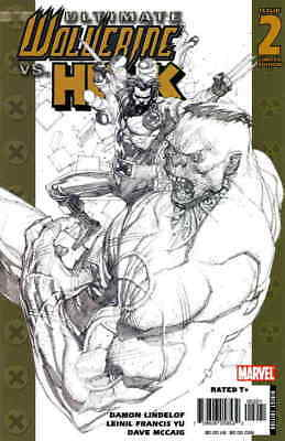 Ultimate Wolverine vs. Hulk #2A VF/NM; Marvel   save on shipping - details insid