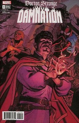 Doctor Strange Damnation #1 Cover B Variant Greg Smallwood Connecting Cover