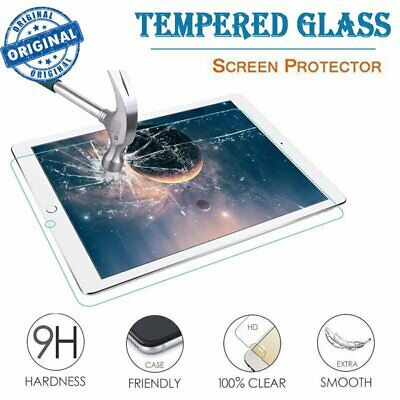 Premium TEMPERED GLASS Screen Protector for iPad 2 3 4 5 6 Air Mini Pro 9.7