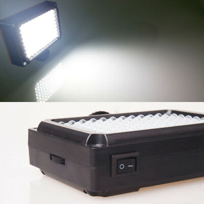 Professional 96 Led Dimmable Panel Video Portable Camcorder Photography Light US