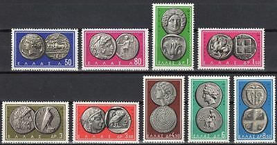 Greece- 1963 Ancient Greek Coins II complete set MNH **