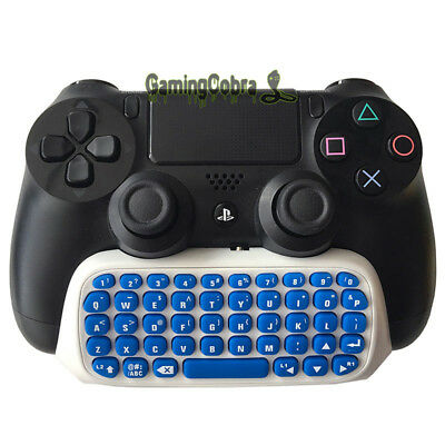 For PS4 PlayStation 4 Controller Game Gaming Mini Bluetooth Wireless Keyboard #1