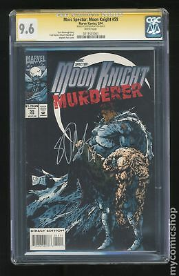 Marc Spector Moon Knight #59 1994 CGC 9.6 SS 0211501001