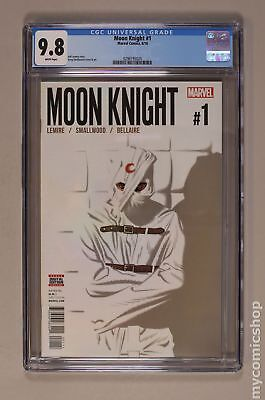 Moon Knight (6th Series) 1A 2016 CGC 9.8 0296195024