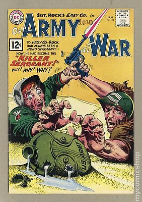Our Army at War #114 1962 VG 4.0