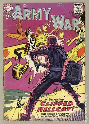 Our Army at War #76 1958 VG- 3.5