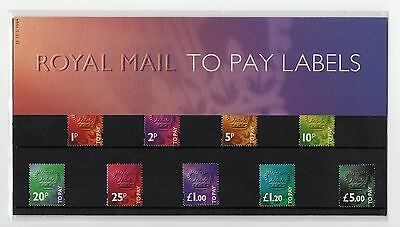 GB 1994 Postage Dues Presentation Pack No. 32 VGC To Pay Labels stamps