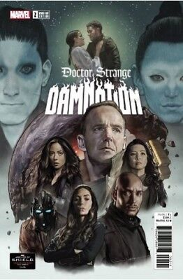 Doctor Strange Damnation #2 Agents Of Shield Road To 100 Variant (legacy)