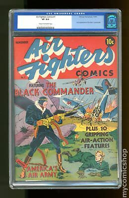 Air Fighters Comics Vol. 1 #1 1942 CGC 8.0 0104477001