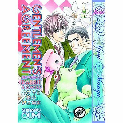 Gentlemen's Agreement Between a Rabbit and a Wolf - Paperback NEW Shinano Oumi 2
