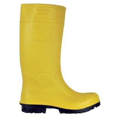 """Cofra 00010-037.W45 Size 45 S5 CI SRC """"Castor"""" Safety Shoes - Yellow"""