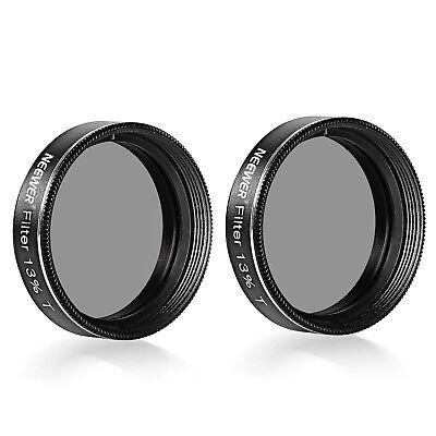 Neewer 2-Pack Neutral-Density 13 Percent Transmission Moon Filters