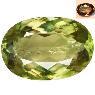 9.75 Ct Charming  Oval Cut 16 x 11 mm AAA Color Change Turkish Diaspore