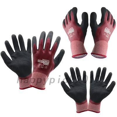 1x Wonder Grip Water-proof Oil Resistant Palm Gloves for Heavy Industry Job Work