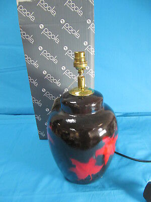 Poole pottery table floor lamp forest flame large manhattan 217069 poole pottery table lamp forest flame small manhattan 217464 new boxed mozeypictures Images