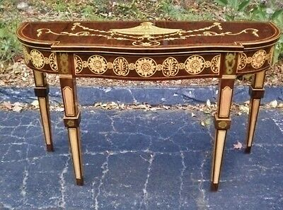 LARGE 59 INCHES Sheraton style  console table credenza