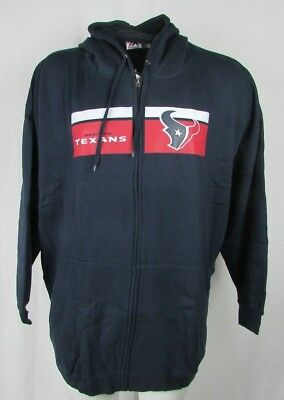 3f083e33 BRAND NEW MAJESTIC NFL Houston Texans Men's Fleece Quarter Zip ...