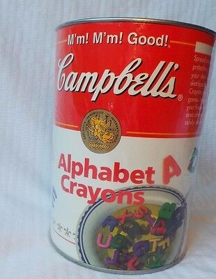 Campbells Soup Crayons 1998 New Sealed
