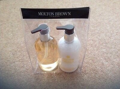 Molton Brown Lemon And Mandarin Hand Wash & Hand Lotion Set 300Ml Bnib