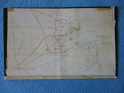 Civil War Map -  Shiloh or Pittsburg Landing Tennessee & Corinth, Mississippi