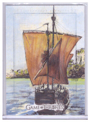 2017 Game of Thrones Valyrian Steel RICH KUNZ 1/1 Artist Sketch Card SketchaFEX