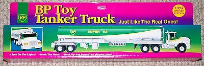 BP Toy Tanker Truck With Lights & Sound 1994 New In Box