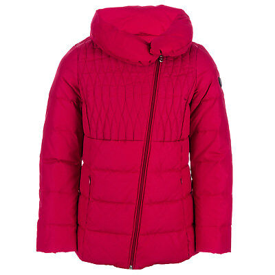 Girls Emporio Armani EA7 Junior Girls Mountain Shiny Down Jacket in Pink - 7-8