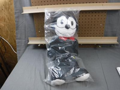 Rare Felix The Cat Plush 21 inch Tall Applause 1989 # 26072 New in Bag Sealed