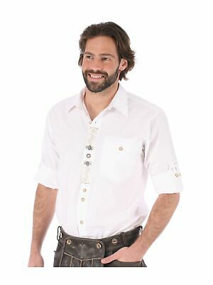 Orbis Traditional Shirt Sticklegende Roll-Up Sleeves Benno White