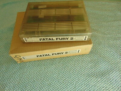 Fatal Fury 2 / Cart & Schachtel Only / Original Neogeo Mvs 627 - 73