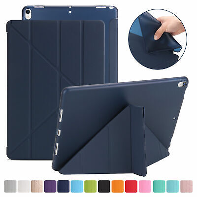 Origami Ultra Slim Leather Magnetic Cover Case For New iPad 2 3 4 Air 3 Mini Pro
