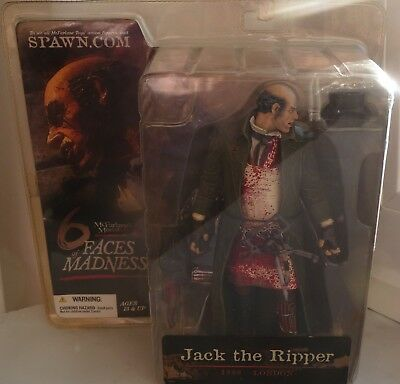 McFarlane Monsters Serie 3 Six Faces of Madness Jack the Ripper 17 cm Figur  Neu