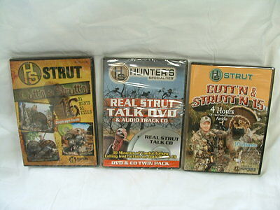 Hunting DVDs Variety Sets Whitetail Deer, Turkey, Horton, K&H, H.S. Strut Titles