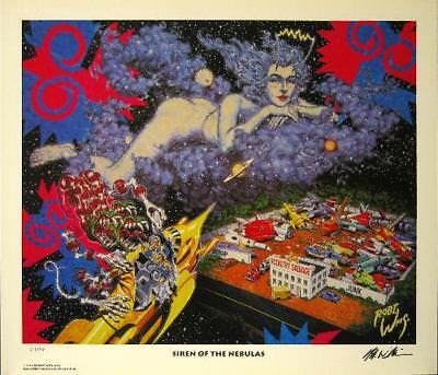 Robert Williams Siren Of The Nebulas Limited Editiom Print Signed Lowbrow Art