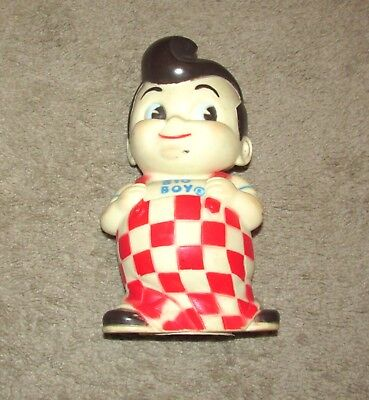 VINTAGE 1970's BOB'S BIG BOY BURGER RUBBER COIN BANK 1973