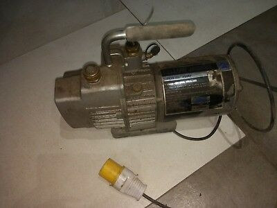Yellow Jacket SuperEvac Pump 95 L/M 2-Stage, used dual voltage, 110V and 230V