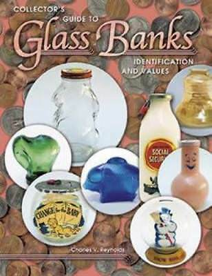 Vintage Glass Coin Banks Ref Book Bubble Candy Penny