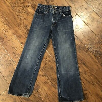 Youth Boys Old Navy Jeans Size 12 Slim Boot Cut Denim Jeans Adjustable