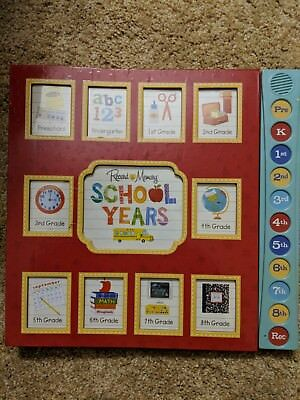Record A Memory School Years Keepsake Book. Record Your Child's Voice Each Year