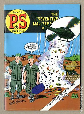PS The Preventive Maintenance Monthly #201 1969 FN 6.0